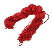 30 Metre, Macrame Threads Red 1 mm Thread Jewellery Cord New C76