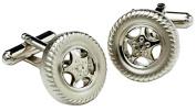 Wheel Cufflinks by Onyx Art - London