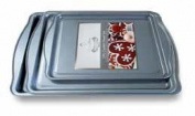 Diamond Home Cookie Tray 3-Piece Set, Grey BW20126