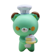Nacome New Cute Chef Bear Squishy Cartoon Rising Scented Bread Toy Gift Fun Toys Cute Chef Bear Scented Slow Rising Toys