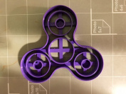 Fidget Spinner (with details) Cookie Cutter