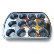 Diamond Home 12 Cup Muffin Pan BW20122 Grey