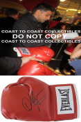 Amir Khan,world Champion Boxer,signed,autographed,boxing Glove,coa,with Proof. - Autographed Boxing Gloves