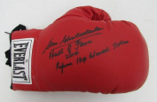 Stan Christodoulou HOF Referee Signed Everlast Boxing Glove R88851 - JSA Certified - Autographed Boxing Gloves