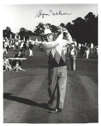 Signed Byron Nelson Photo - PRO GOLFER from 1935 through 1946 64 TOUR WINS Passed Away 2006 8x10 B W