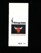 1967 Chicago Bulls Yearbook radio tv guide