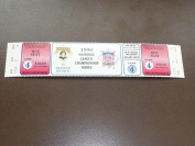 1990 PIRATES ALCS PLAYOFF FULL TICKET GAME 4