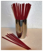 100 x Highly Scented & Coloured Indian Incense Sticks