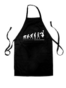 Evolution Of Woman Cheerleading - Unisex Fit Adult Apron - 8 Colours