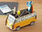 Berghaus | Germany | desktop | organise | small | fashionable gadgets | Homewares | Office | desk supplies | pen stand | crash to | remote control | Volkswagen | bus | hippie | car |