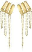 nOir Jewellery Hidden Falls Ear Cuffs
