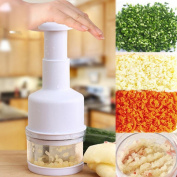 Vegetable Garlic Onion Pressing Chopper Dicer Peeler Cutter Stainless Steel Kitchen Tool