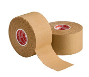 "Mueller P Tape- Beige Strapping Tape- 1.5""x 15 yard rolls- Strong, Porous, Adhesive Corrective Tape with Serrated Edges"