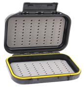 Hestio Waterproof Dual-Layer Fly Fishing Bait Storage Case Box