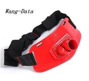 Wang-Data Adjustable Fishing Fighting Waist Gimbal Belt Boat Fishing Rod Holder