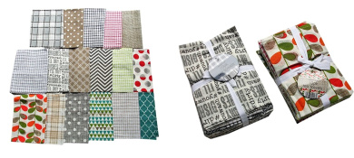 TEA TOWEL KITCHEN TOWEL PACK OF 10 100% WOVEN COTTON
