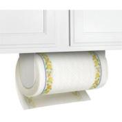 White Plastic Wall Mount Paper Towel Holder