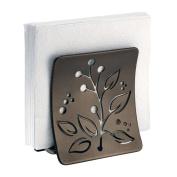 mDesign Leaf Napkin Holder for Kitchen Countertops, Table - Bronze