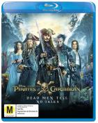 Pirates Of The Caribbean Dead Men Tell No Tales Blu-ray [Region 4]