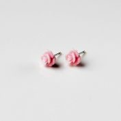 Pink Rose Earrings, Gifts For Women, Bridal Gift, Gift Box Included