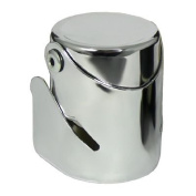 Wine Essentials Chrome Plated Champagne And Sparkling Wine Stopper Seal
