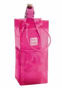 Gimex 17400 Ice Bag Basic Wine Cooler 1 Bottle 30 X 15 Cm Pink
