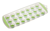 Kitchen Craft Colourworks Pop Out Ice Cube Tray - Green