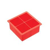 Kitchen Craft Bar Craft Silicone Slow Melt Jumbo Ice Cube Tray
