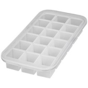 Levivo Silicone Ice Cube Tray For 18 Ice Cubes Approx. 27 X 14 X 4 Cm White