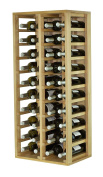 Expovinalia Special Wine Rack With 4 Modules And Holds 40 Units, Wood, Rustic, X