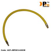 Hi-viz 300psi Whip Hose - 0.6cm Bsp + Euro Tail
