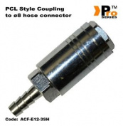 Pcl Style Quick Release Coupling With Hose Connector ø8mm 002