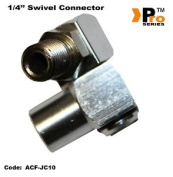 Swival Connector For Air Tools 0.6cm male To 0.6cm Female