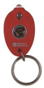 Mighty Bright Rubberised Led Keychain Light Red