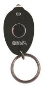 Mighty Bright Rubberised Led Keychain Light Black