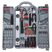 Vivo© 127pc Essential Tool Kit Set - Socket Screwdriver Pliers Drill Bit Hex Key