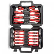 58 Pc Piece Screwdriver And Bit Tool Set Kit & Case Torx Phillips Slotted Garage