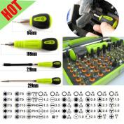 53 In 1 Kits Multi-bit Precision Torx Screwdriver Tweezer Repair Tools With Case