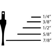 Flexcut Sk Chisel - Straight 9.5mm