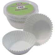 Cake Cases X100 White Cake Accessories