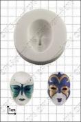 Silicone Mould Venetian Mask   Food Use Fpc Sugarcraft Free Uk Shipping!