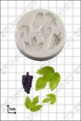 Silicone Mould Grape & Vine Leaves | Food Use Fpc Sugarcraft Free Uk Shipping!