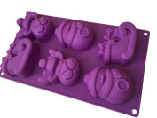 Christmas Santa Claus Snowman Shape Baking Mould Chocolate Mould Silicone Cake