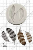 Silicone Mould Feathers | Food Use Fpc Sugarcraft . Within The Uk!