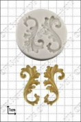 Silicone Mould Curlicues   Food Use Fpc Sugarcraft Free Uk Shipping!