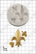 Silicone Mould Fleur-de-lys   Food Use Fpc Sugarcraft Free Uk Shipping!