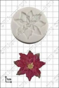 Silicone Mould Poinsettia | Food Use Fpc Sugarcraft . Within The Uk!