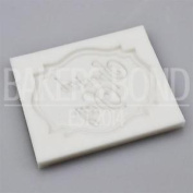 Special Day Script Writing Plaque Birthday Silicone Mould Cupcake Topper Banner