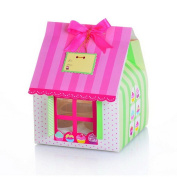 10 X Cupcake Themed Patterned Cake Boxes Holds 4 Cupcakes