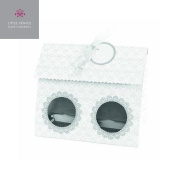 Docrafts Little Venice Cake Company Elegant White Duo Cupcake Box 4 Pack New